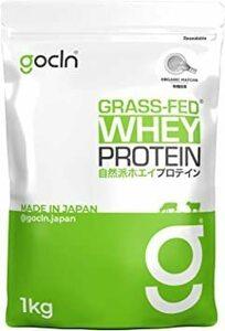 【期間限定】GoCLN ホエイプロテイン(グラスフェッド) 1Kg (合成甘味料・香料、無添加)オーガニック抹茶KNKO