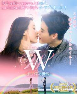 韓国ドラマ W 君と僕の世界 DVD8枚組、メイキング DVD イ・ジョンソク 日本語字幕