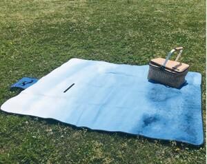 バカンス 折りたたみピクニックマット レジャーシート 大きめサイズ 防水