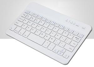 小型Bluetoothキーボード 白 送料無料 ミニ 無線キーボード ブルートゥースキーボード ワイヤレスキーボード