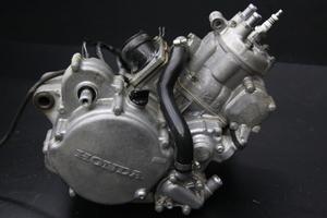 CR125R(JE01)純正エンジンASSY 実働!KZ4