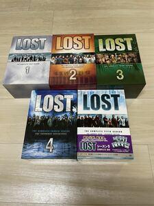 ★美品★LOST 海外ドラマ DVD-BOX シーズン1~5 コンプリートBOX