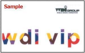 ◆06-10◆WDI 株主優待券(VIP CARD 20%OFF) 10枚Set◆