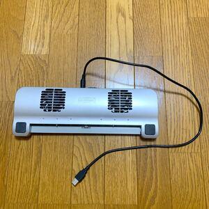 ELECOM エレコム PC冷却台 クールブリザード