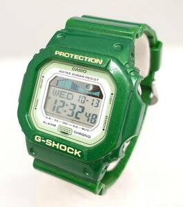 CASIO カシオ G-SHOCK G-LIDE GLX-5600A クォーツ 腕時計 緑 グリーン スクエア