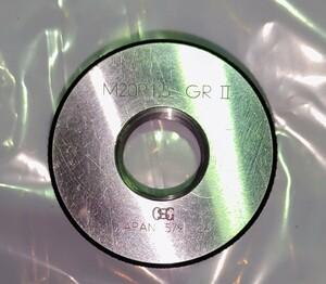 ネジゲージ OSG M20 P1.5 GRⅡ 中古品 NO,134