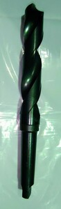 テーパーシャンクドリル KOBE STEEL SKH9  刃径 40.5φ MT4  中古品 NO,127