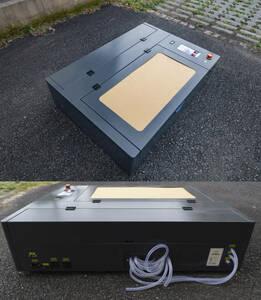 【完全日本語化】自宅に置ける高出力卓上型 レーザー加工機 4060 60W CO2 レーザーカッター 彫刻機 業販 新品国内発送 法人宛送料無料】