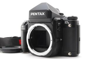 美品 Pentax ペンタックス 67II 6×7 中判 フィルムカメラ ボディ AE ファインダー