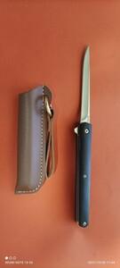 サバイバル折りたたみナイフ
