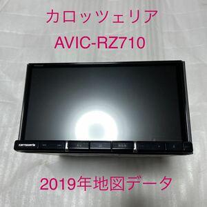 2019年地図 カロッツェリア 楽ナビ AVIC-RZ710 フルセグTV Bluetooth DVD 中古美品!