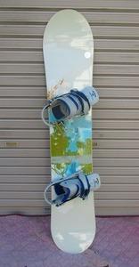 6239U★BURTON★スノーボード板★ビンディング付★約140cm FEATHER★