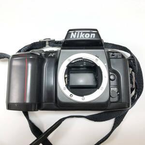 並品 Nikon ニコン フィルムカメラ 一眼レフ AF F-601 オートフォーカス シャッター 露出計 確認済み