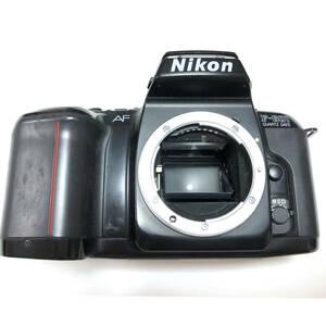 並品 Nikon ニコン F-601 AF オートフォーカス フィルムカメラ 露出計 シャッター 確認