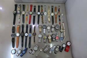 1円~△#SWATCH スウォッチ 腕時計 いろいろまとめて 計44点
