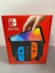 Nintendo Switch(有機ELモデル)ネオンフルー/ネオンレット