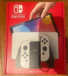 Nintendo Switch 本体 有機ELモデル 新型 ホワイト 10月18日購入