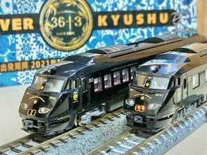 KATO リレーつばめ改造 JR九州 787系 観光列車 36+3 6両 ツヤあり光沢塗装 室内灯、オマケつき
