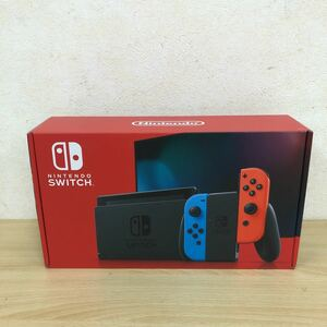 1円~ 新品 任天堂 Nintendo Switch ネオンブルー ネオンレッド ゲーム HAD-S-KABAA 保証残有り