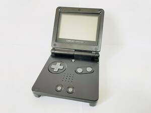 【送料無料】ゲームボーイアドバンス SP(ブラック) 本体と充電器付きセット AGS-001,動作確認済,清掃済/任天堂,Nintendo,GBASP