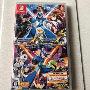 任天堂スイッチソフト ロックマンXアニバーサリーコレクション