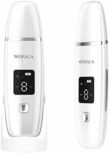ウォーターピーリング WOFALA 超音波ピーリング美顔器 1台4役 超音波振動 EMS微電流 イオン導入 イオン導出 毛穴クリーナー 多機能美顔器