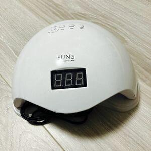 LED & UV ネイルライト UV+LED 48w UV/LEDライト 人感センサー付 低ヒート機能