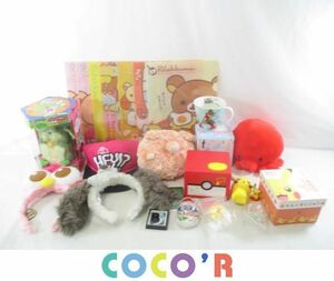 [ including in a package possible ] secondhand goods hobby Pocket Monster Moomin Rilakkuma other savings box mug clear file soft toy etc. goods set