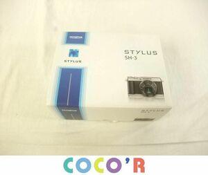 【同梱可】良品 家電 OLYMPUS オリンパス STYLUS SH-3 コンパクトデジタルカメラ