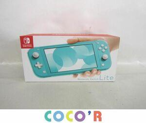 【同梱可】良品 ゲーム ニンテンドースイッチ 本体 Nintendo Switch Lite ターコイズ