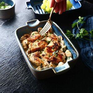 新品 プレート 魚料理 ハンバーグ グラタン パーティー キッチン雑貨 【最終値下げ】セラミック ラザニア トレイ DM98