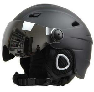 新品 フリース 人気 ヘルメット スノーボードヘルメット ゴーグルバイザー ※スキーヘルメット スノーモービル 暖かYG54