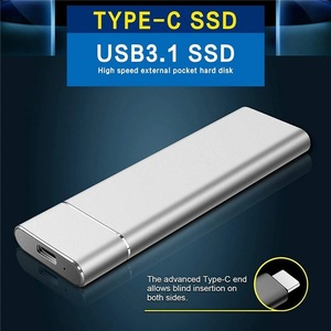 free postage )M.2 SSD 4TB mobile solid state Drive Mobile attached outside SSD storage :4TB portable USB 3.1 mobile hard disk