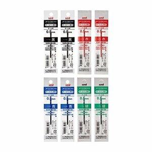 三菱鉛筆 0.5mm 三菱鉛筆 ボールペン替芯 ジェットストリーム 多色多機能 0.5 4色×2本入 SXR8005