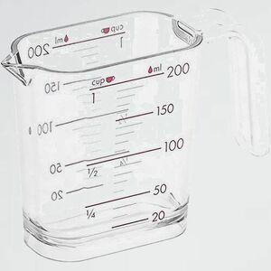 新品 好評 調理器具 和平フレイズ D-NR 日本製 GC-260 計量カップ ジ-・クック 200ml シルバ-ロ-ズ 食洗器対応