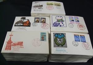 日本FDCコレクション約521通ほど一括。JPS製、重複なし