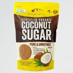 新品 目玉 オ-ガニックココナッツシュガ- (500g~1kg)シェフズチョイス 5-6N Sugar (500g) 有機JAS ACO USDA Organic Coconut