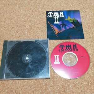 TMN COLOSSEUMII TM NETWORK アルバム CD ライブ盤 TMネットワーク colosseum2 コロッセウム TM 小室哲哉 宇都宮隆 木根尚登