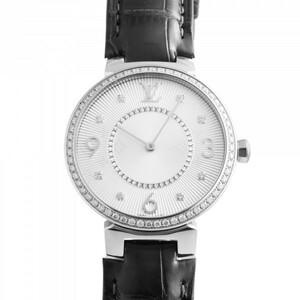 ルイ・ヴィトン LOUIS VUITTON Q13ML シルバー文字盤 中古 腕時計 レディース