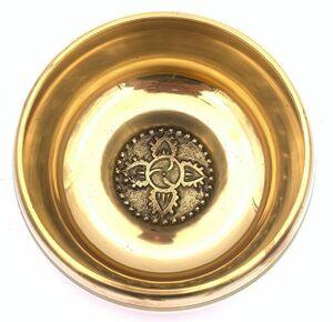 チベット密教法具-シンギングボール(瞑想鈴)-羯磨カツマ