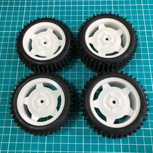 新品未使用 タミヤ ネオスコーチャーXB タイヤ ホイール TT-02B DF-02 DF-03