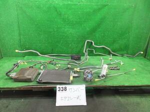 17131421 スバル サンバートラック TT2 エアコン部品セット 欠品有 ジャンク品 コンプレッサー コンデンサー スイッチ 2101197