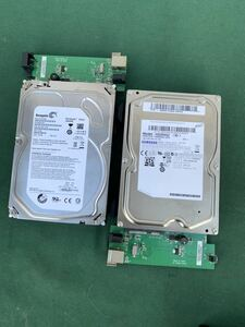 SAMSUNG 2TB.SEAGATE 2000GB used operation not yet verification present condition goods