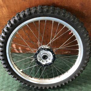 WR250X WR250R 前後 純正 ホイール X→R変換 タイヤセット