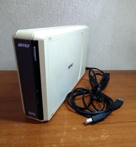 BUFFALO DVM-X16U2 USB2.0対応 外付DVDドライブ
