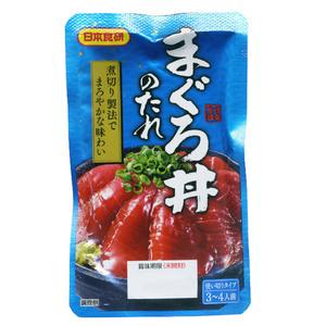 同梱可能 まぐろ丼のたれ マグロ丼 鮪丼 70g 3~4人前 日本食研/8685 x1袋
