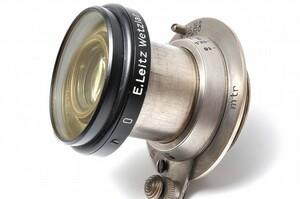 Leica Nickel Elmar 50mm F3.5 ライカ ニッケル エルマー フィルター Lマウント L39 Leitz Wetzlar ライツ ニッケルエルマー 50/3.5 5 35