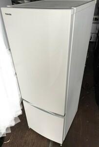TOSHIBA 東芝  2ドア冷蔵庫 171L 2018年製 GR-M17BS-W シェルホワイト