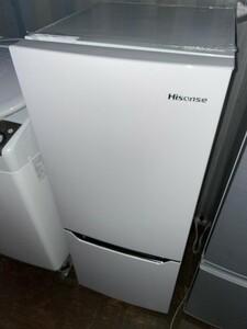 Hisense ハイセンス 2ドア冷蔵庫 150L HR-D15C 2020年製