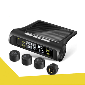 1 jpy ~ free shipping! tire empty atmospheric pressure sensor tire empty atmospheric pressure monitor TPMS atmospheric pressure temperature immediately hour monitoring sun talent /USB two -ply charge wireless external sensor oscillation perception